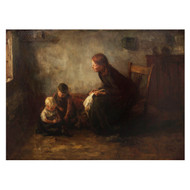 """Mother & Children"" (1898) | Jacob Simon Hendrik Kever"