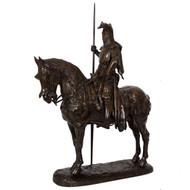 """Louis I, Duke of Orleans"", bronze sculpture | Emmanuel Fremiet"