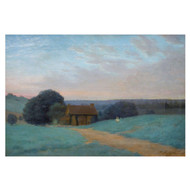 """Spring Landscape, Evening""   William Anderson Coffin (American, 1855-1925)"