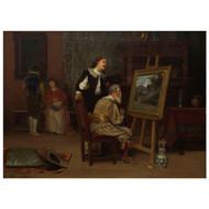 """The Art Critic"" (1886) | JOHN HENRY DOLPH"