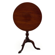 George III Mahogany Tilt-Top Tea Table | England, circa 1780