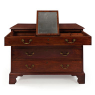 English George III Mahogany Chest of Drawers circa 1800