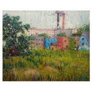"""""""A View of Factories""""   Annie Lovering Perot"""