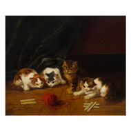 """Kittens at Play"" 