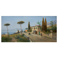 Landscape View of Naples | A.L. Terni (pseud. Georg Fischhof)
