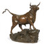 "Auguste Cain (French, 1821-1894) Antique Bronze Sculpture of ""Bull"""