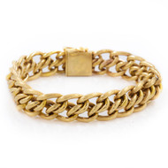 Woven & Braided 14K Gold Chain Bracelet | Zelman and Friedman