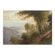 """Bit on the Old Cart Road to Darjeeling"", oil painting | Alexander Scott"
