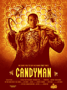 Limited Edition Candyman Silk Screened Poster