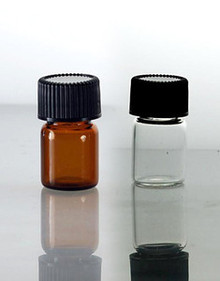5/8 Dram Glass Vials