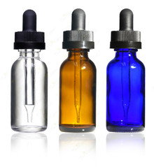 30 ml,1 oz Boston Round with Child Resistant Dropper