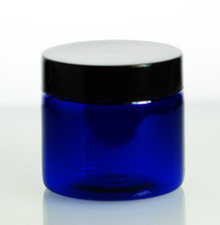 2oz Cobalt Blue PET Jars