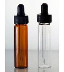 2 Dram Glass Vials With Dropper