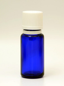 15ml Blue Euro Dropper w/Child Resistant tamper Evident Caps.