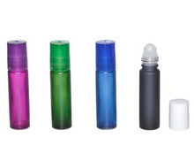 10 ml (1/3oz) Frosted Color Roll On Bottles