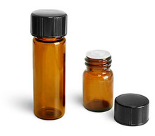 1/4 Dram Vials with Orifice Reducer