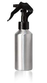 120ml (4 oz) Aluminum Bottles W/Mini Trigger Sprayer