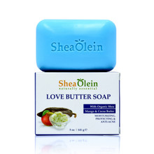 shea olein love butter soap