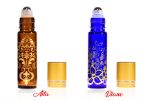 10 ml Decorative Roll on Bottles Metallic Caps