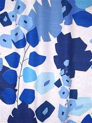 Block Floral Blue