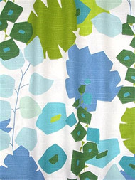 Block Floral Green
