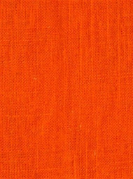 Jefferson Linen 321 Tangerine Linen Fabric