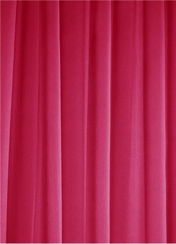 Garnet Chiffon Sheer Dress Fabric