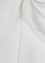 Odessa Reversible Stretch Crepe Jersey Light Ivory