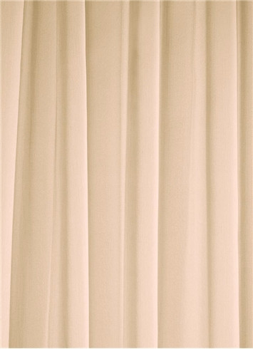 Nude Sheer Dress Fabric