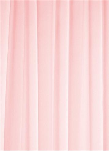 Paris Pink Sheer Dress Fabric