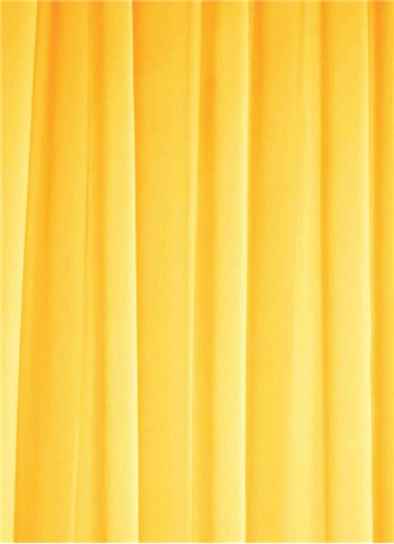Canary Yellow Sheer Dress Fabric