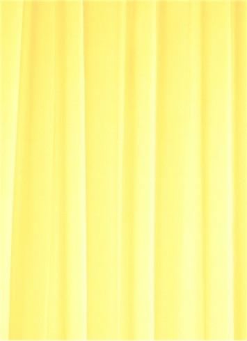 Lemon Sheer Dress Fabric