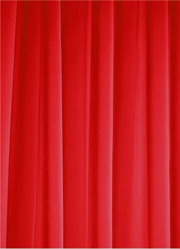 Red Sheer Dress Fabric