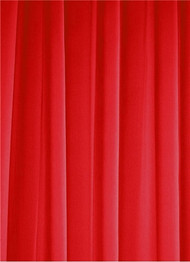 Red Sheer Dress Fabric