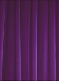 Purple Sheer Dress Fabric