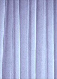 Steel Blue Sheer Dress Fabric