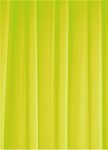 Lime Sheer Dress Fabric