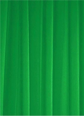 Kelly Green Sheer Dress Fabric