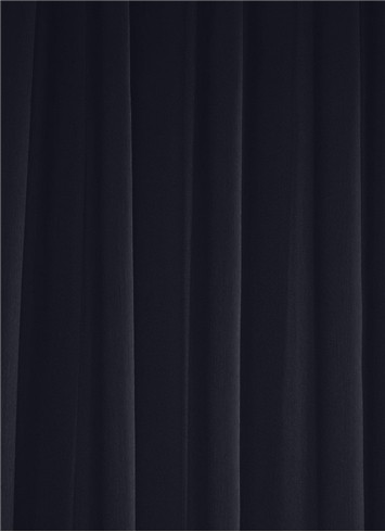 Midnight Navy Sheer Dress Fabric