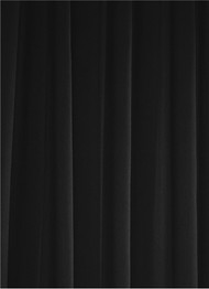 Black Sheer Dress Fabric