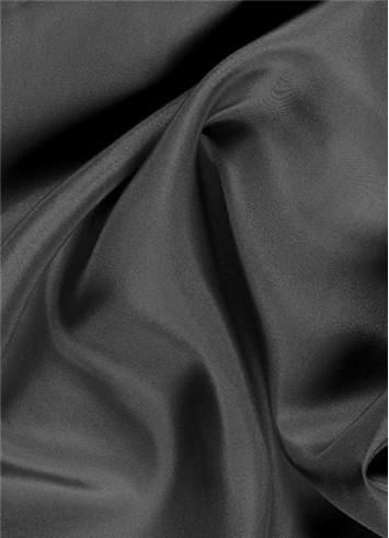 Charcoal dress lining fabric
