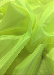 Neon Yellow dress lining fabric