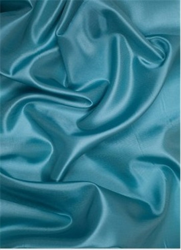 Teal dress lining fabric