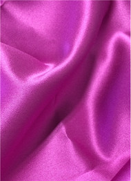 Ultra Grape Duchess Satin Fabric