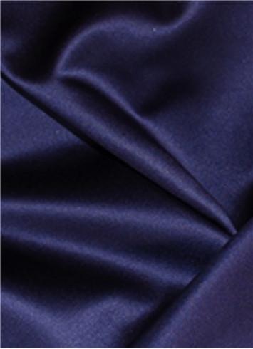 Storm Navy Duchess Satin Fabric