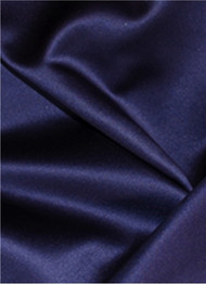 Storm Navy Duchess Satin Fabric
