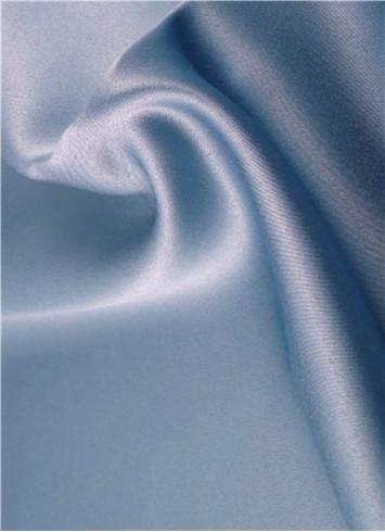 Desert Blue Duchess Satin Fabric