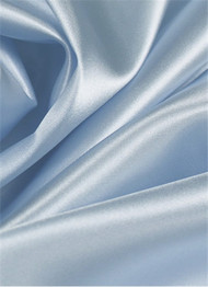 Powder Blue Duchess Satin Fabric