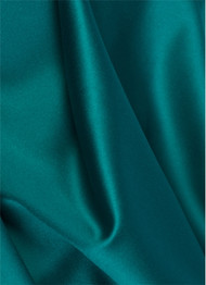 Teal Duchess Satin Fabric