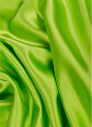 Apple Green Duchess Satin Fabric